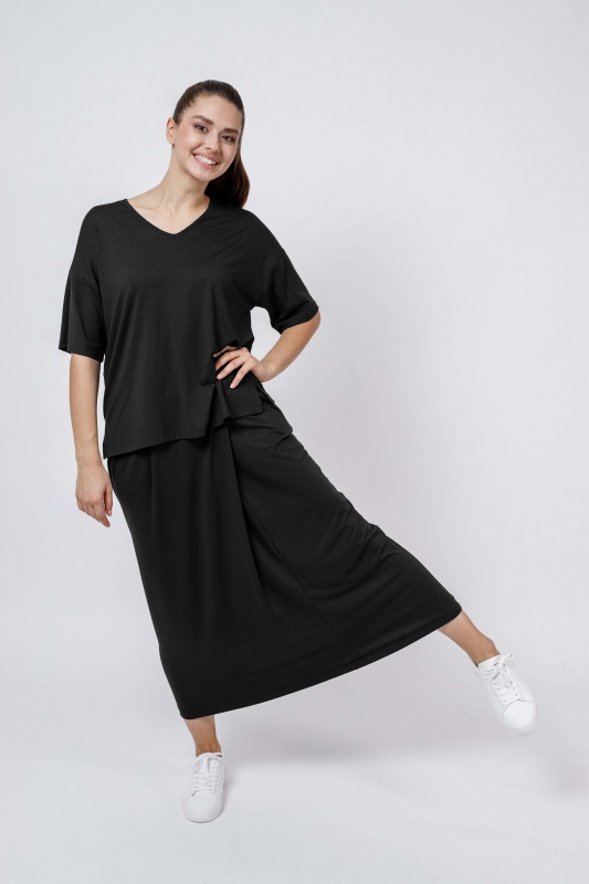 Блуза Oversize (V-neck)
